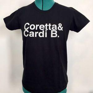Coretta & Cardi B. Tee from American Apparel